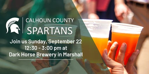 Calhoun County Spartans Day ay Dark Horse Brewery