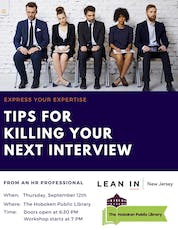 Tips for Killing Your Next Interview tickets