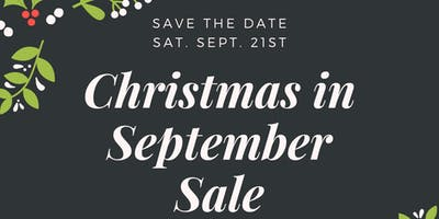 Christmas in September Pre-Sale Tickets