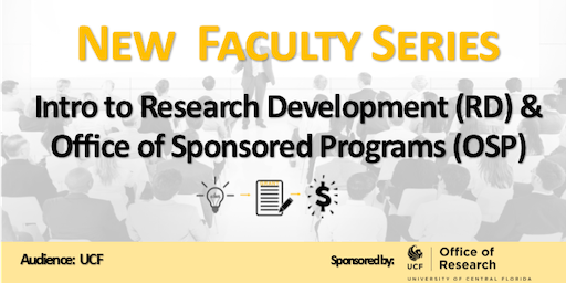 Introduction to Research Development & Office of Sponsored Programs