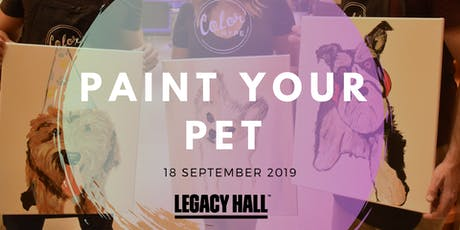 Paint Your Pet at Legacy Hall tickets
