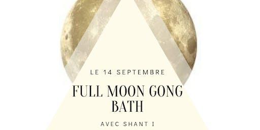 Full moon Gong Bath