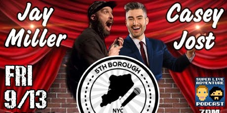Casey Jost/Jay Miller Little Victory Theatre (5th Borough Comedy Festival tickets