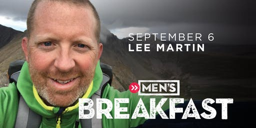 COTM Men's Breakfast with Lee Martin