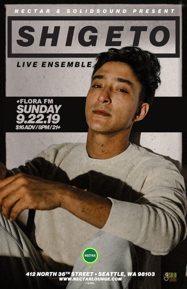 Shigeto Live Ensemble With Flora Fm Tickets Sun Sep 22