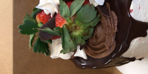 Valentines Day Drip Cake