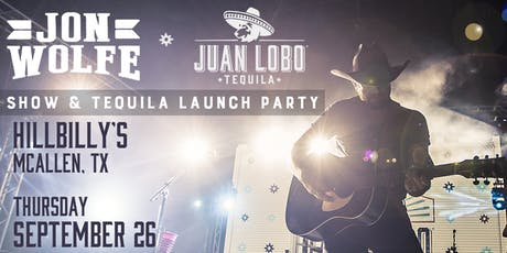 Jon Wolfe show & Tequila Launch Party tickets