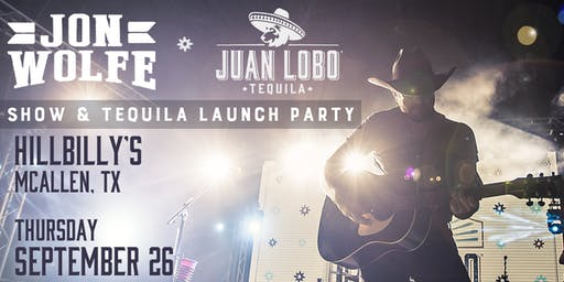 Jon Wolfe show & Tequila Launch Party