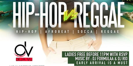 Hip Hop VS Reggae tickets