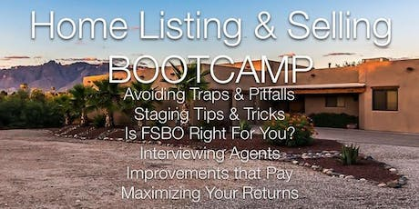 FREE Home Listing & Selling BOOTCAMP tickets