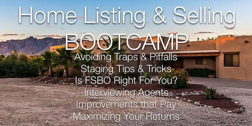 FREE Home Listing & Selling BOOTCAMP
