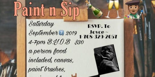 Lavell 38th Birthday Party Paint N Sip