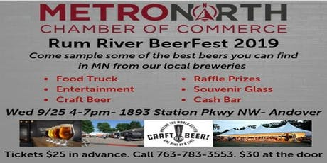 MetroNorth Chamber Rum River BeerFest 2019 tickets