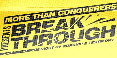 Breakthrough Encounter tickets