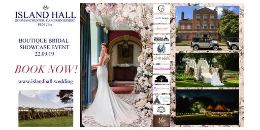 Boutique Bridal Showcase at Island Hall