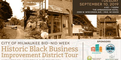 City of Milwaukee's BID/NID Week's Historic Black BID Tour