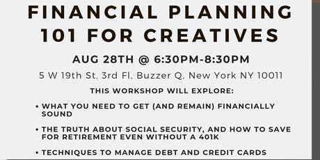 Financial Planning 101 for Creatives tickets