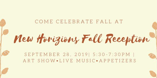 New Horizons Fall Reception