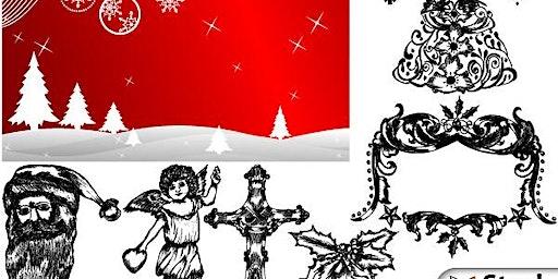 Family Art Night: Holiday Gift-Tag/Card Printing