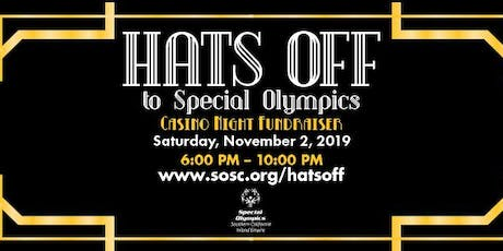 Hats Off to Special Olympics, Roaring 20's, and Casino Night tickets