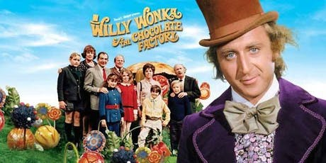"""Willy Wonka and the Chocolate Factory"" Presented in Smell-O-Vision tickets"