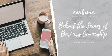 Embiria presents Behind the Scenes of Business Ownership tickets