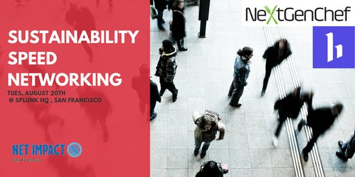 Sustainability Speed Networking with Net Impact - August 20