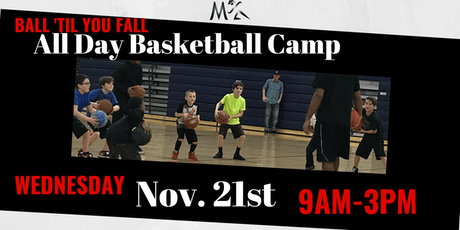 Ball Til You Fall Youth Basketball Day Camp tickets