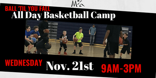 Ball Til You Fall Youth Basketball Day Camp