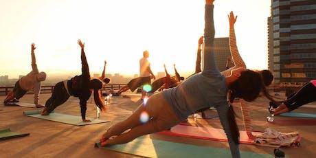 Yoga and Moskato tickets