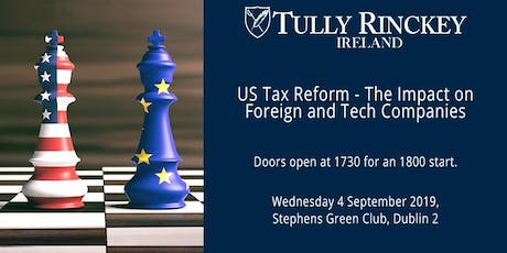 US Tax Reform – The Impact on Foreign and Digital Companies tickets