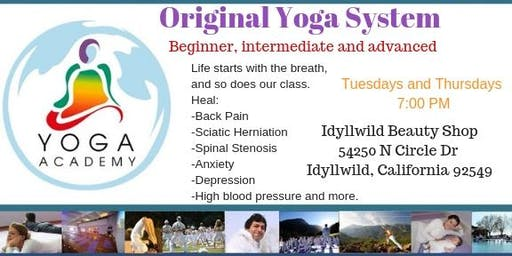 Yoga Academy USA Original Yoga System First class Free