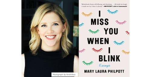 Mary Laura Philpott with Jennifer Weiner Discussing I Miss You When I Blink