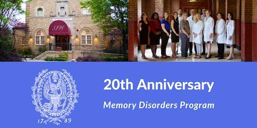 Georgetown University - Memory Disorders Program - 20th Anniversary