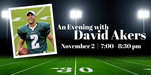An Evening with Philadelphia Eagle David Akers