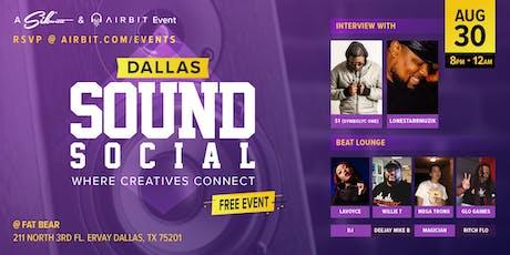 Sound Social: Dallas - Where Creatives Connect tickets