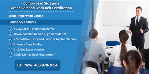 Combo Lean Six Sigma Green Belt and Black Belt Certification Training In Shreveport, LA