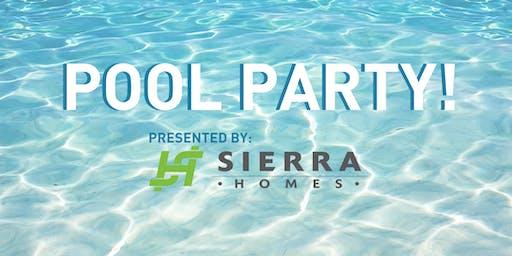 Sierra Homes Pool Party