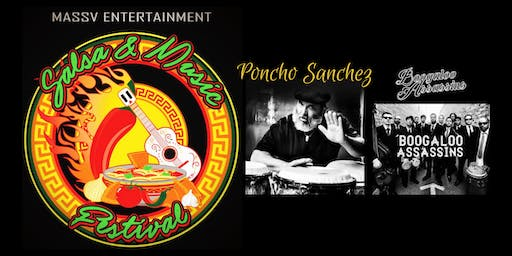 The Bakersfield Salsa & Music Festival Feat: PONCHO SANCHEZ