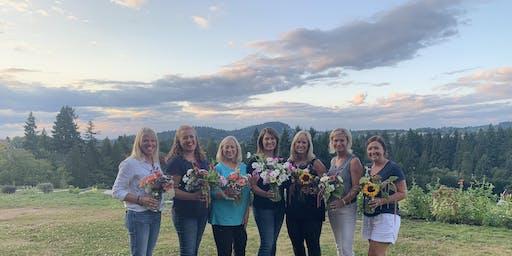 U-Pick Flowers & Garden Bouquet Workshop