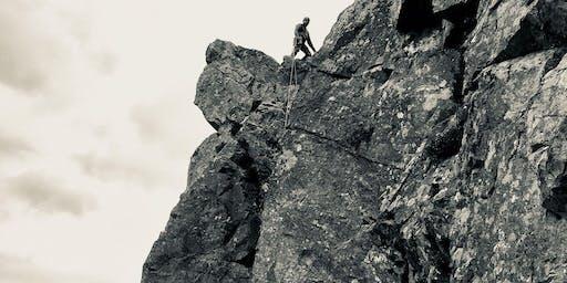 climbing Northumberland
