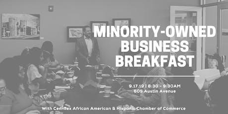 Minority-Owned Business Breakfast tickets