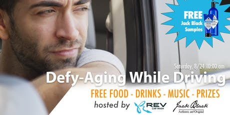 Defy-Aging While Driving - Sponsored by REV Car Wash & Jack Black tickets