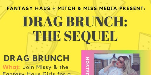 DRAG Brunch: the Sequel