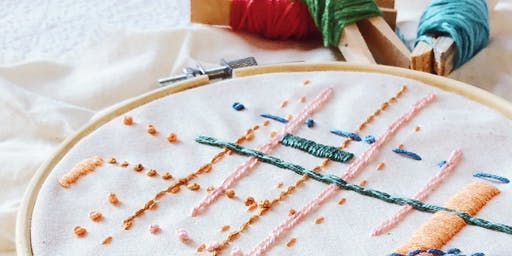 Makers Workshop: Abstract Embroidery