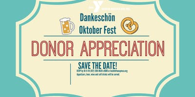 Save the Date - Donor Appreciation Happy Hour