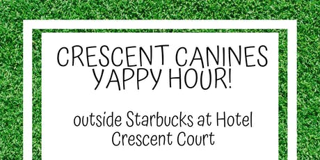 National Dog Day Yappy Hour at Hotel Crescent Court tickets