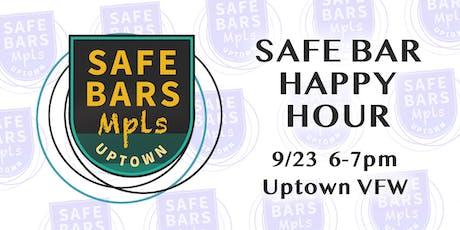 Safe Bar Happy Hour tickets