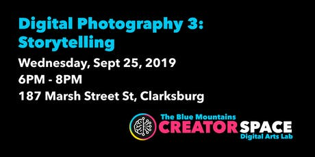 Digital Photography: Storytelling tickets