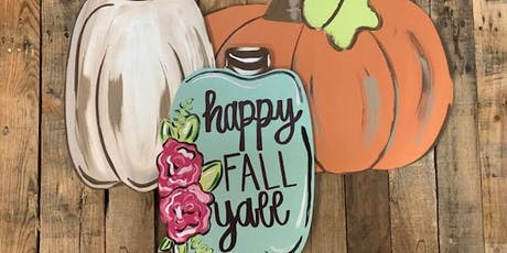 Fall Pumpkins with Dixie Belle tickets
